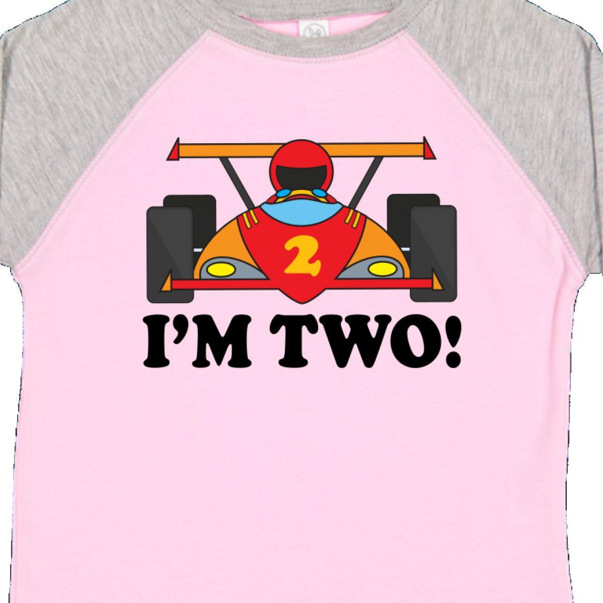 Inktastic Race Car 2nd Birthday Boys Racing Toddler