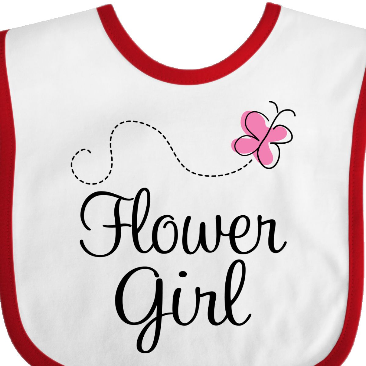 Wedding Flower Girl Bibs