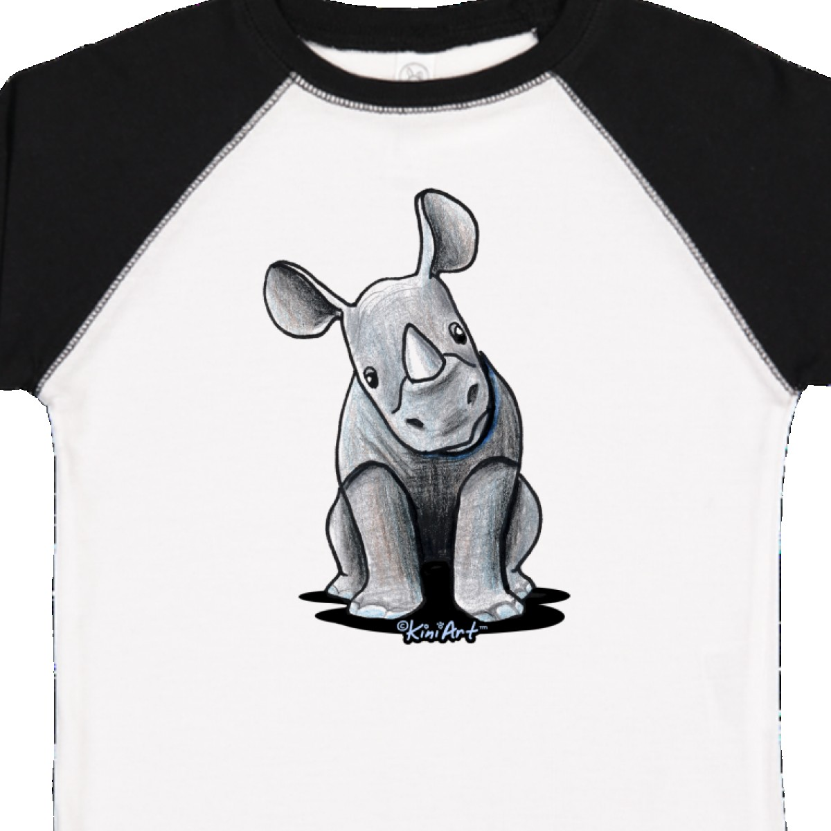 Inktastic-Curious-Rhinos-Toddler-T-Shirt-KiniArt-Rhino-Rhinoceros-Art-Cartoon thumbnail 36