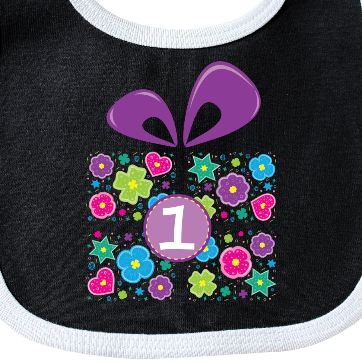 Details About Inktastic Babys 1st Birthday Present Baby Bib Party First Kids One Year Old 1