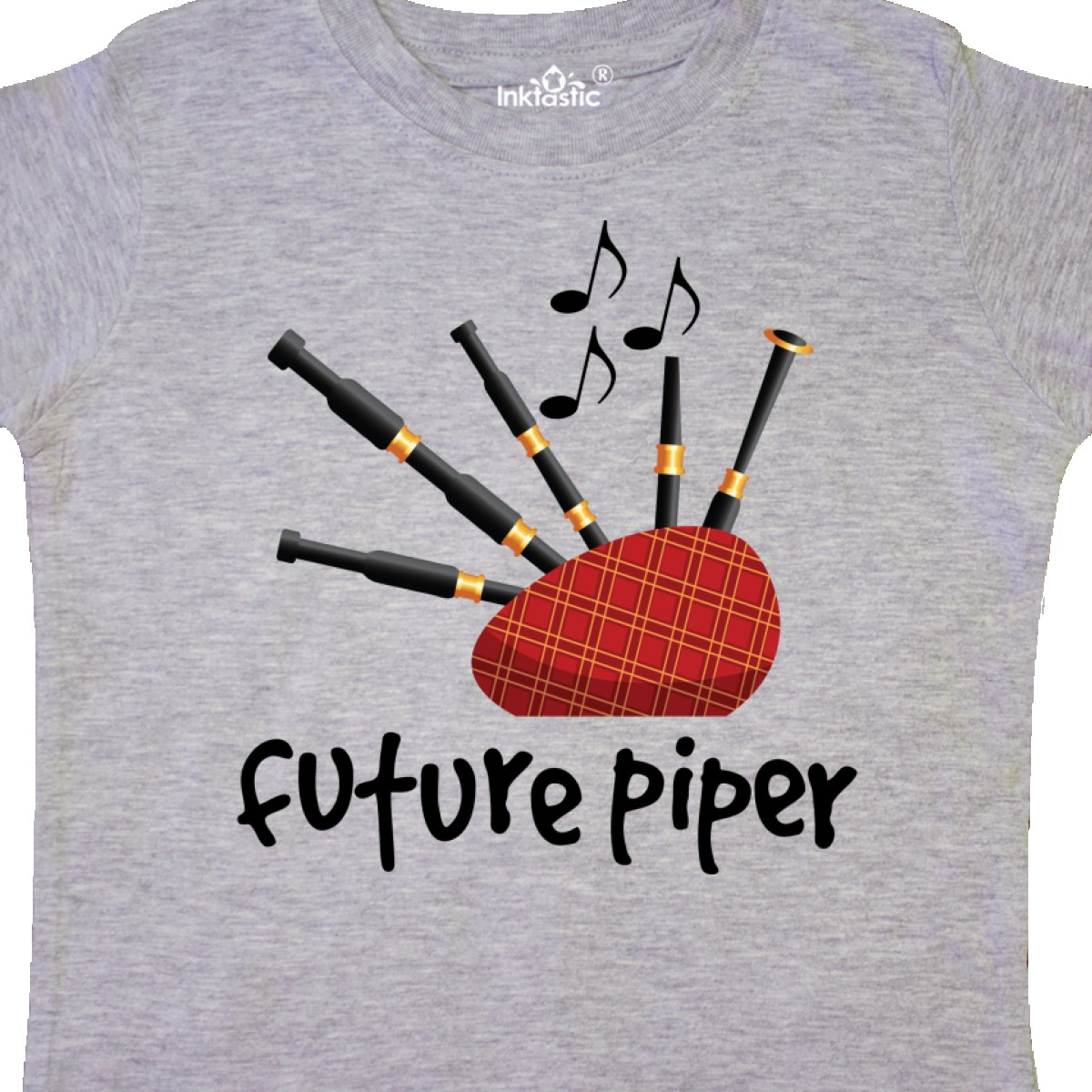 Inktastic-Bagpiper-Kids-Future-Piper-Toddler-T-Shirt-Bagpipes-Instruments-Gift thumbnail 4