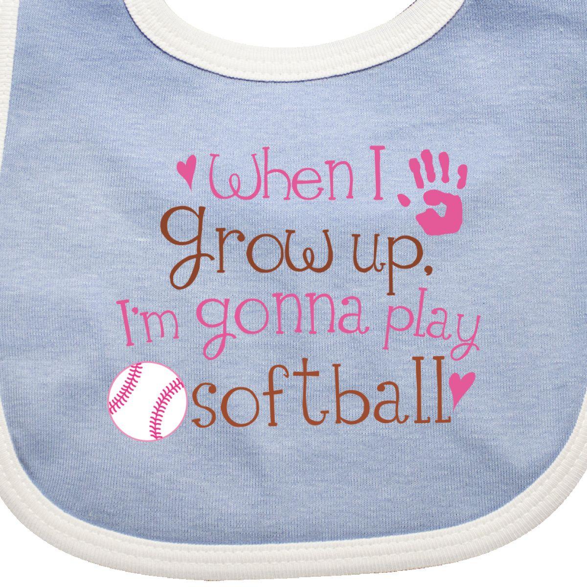 inktastic Softball Sports Gift for Girls Baby T-Shirt