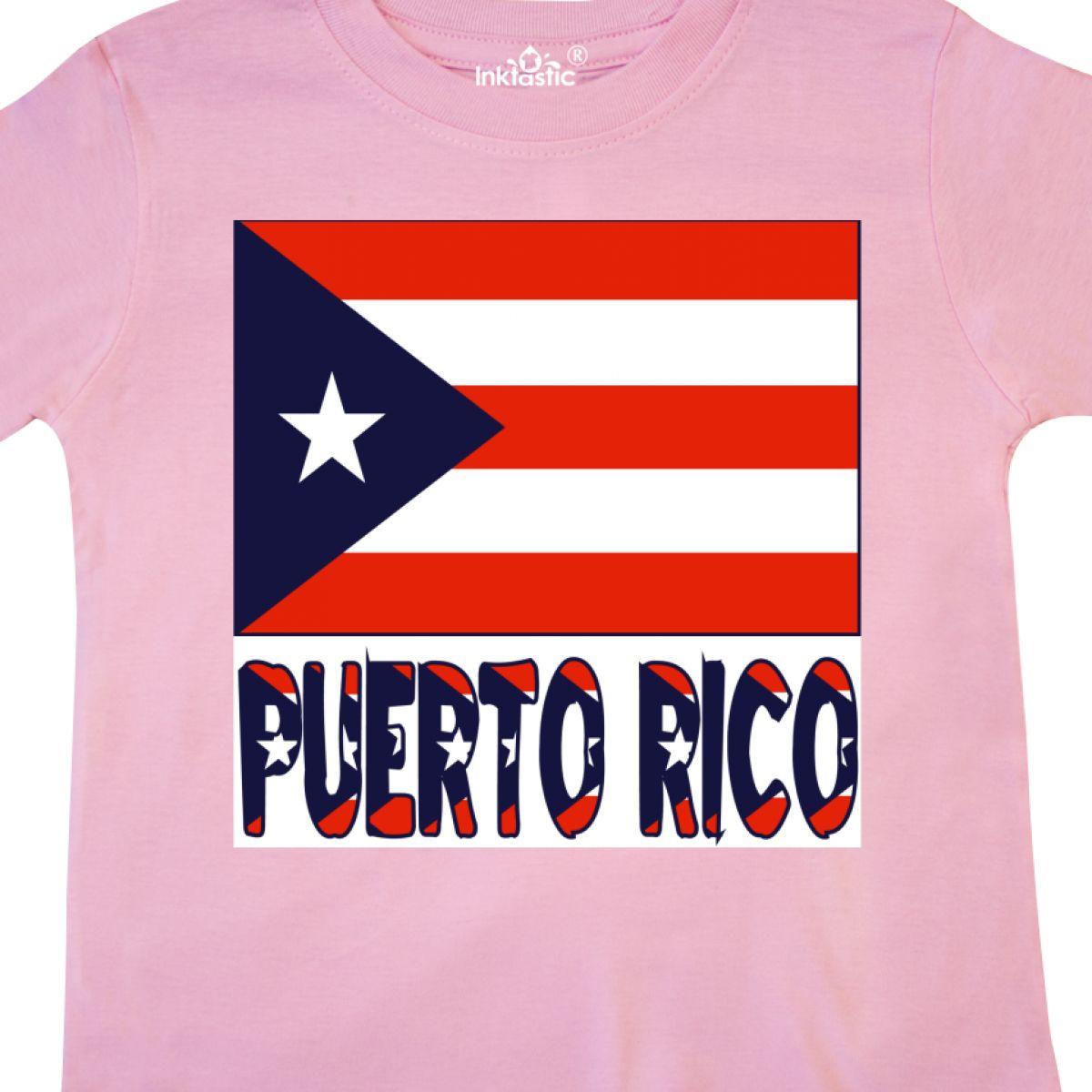 Inktastic-Puerto-Rico-Flag-amp-Name-Toddler-T-Shirt-Puerto-rican-Puerto-rico-Gift thumbnail 8