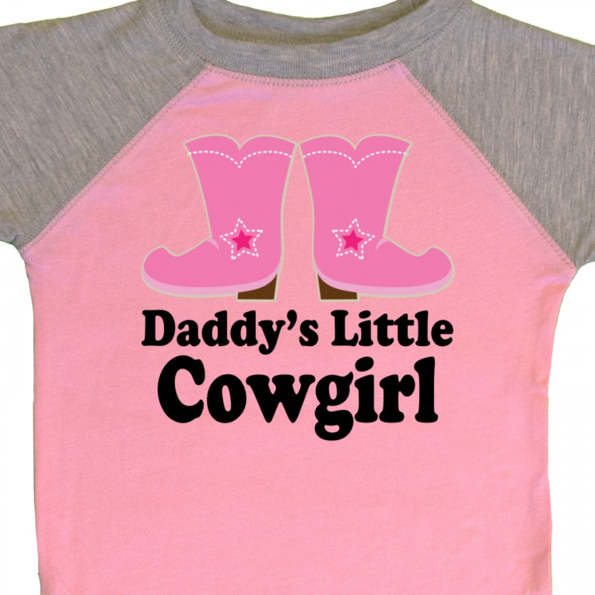 Inktastic Daddy/'s Little Cowgirl Infant Creeper Boots Pink Cowboy Western Cute