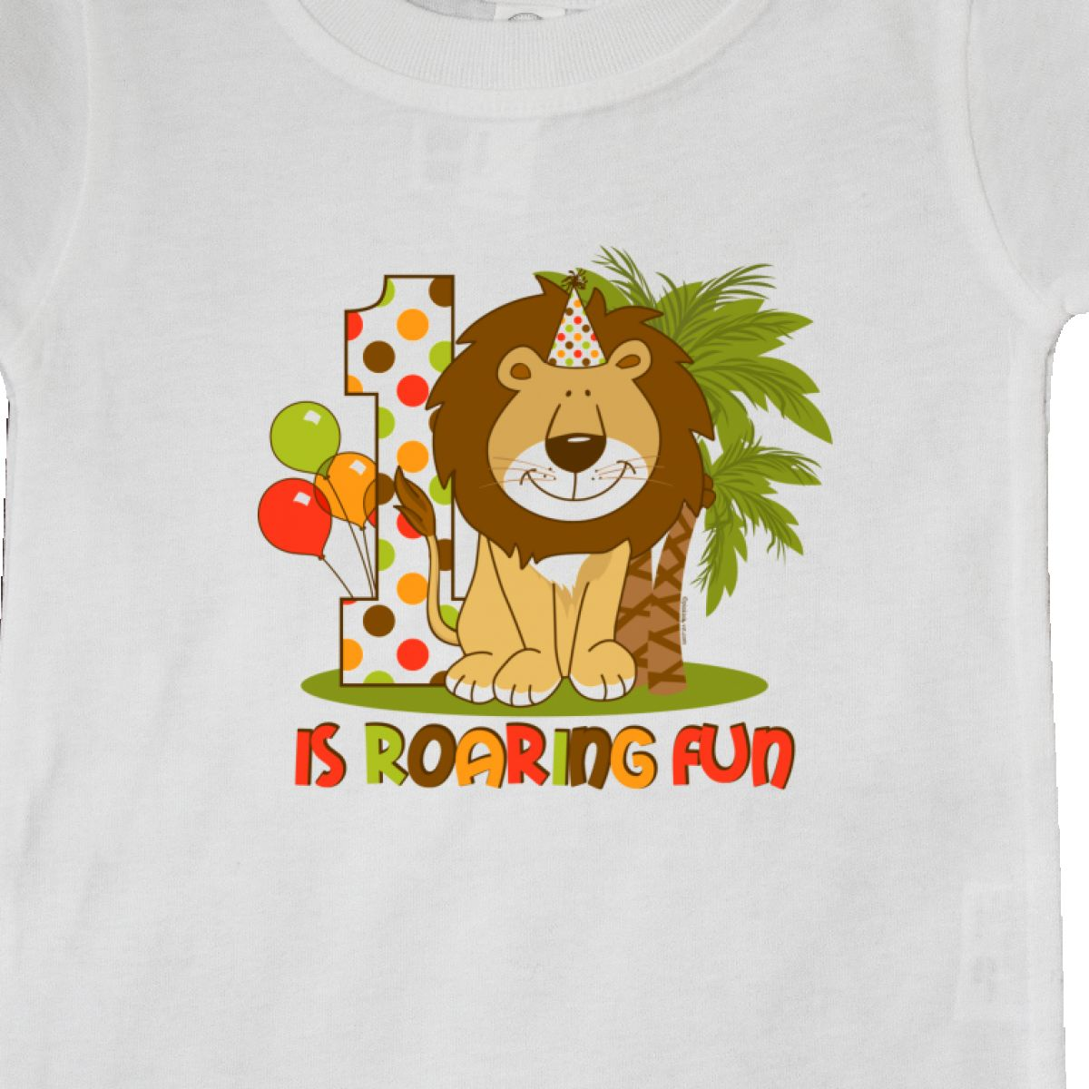 Inktastic-Cute-Lion-1st-Birthday-Baby-T-Shirt-Roaring-Fun-Pinkinkartkids-First thumbnail 22