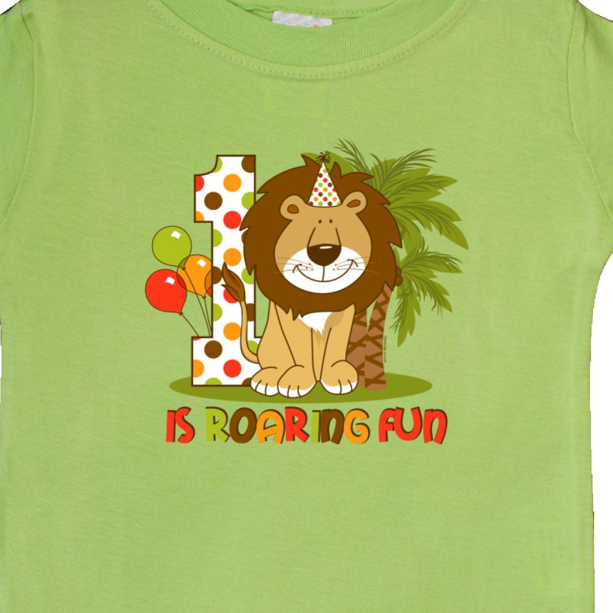 Inktastic-Cute-Lion-1st-Birthday-Baby-T-Shirt-Roaring-Fun-Pinkinkartkids-First thumbnail 10