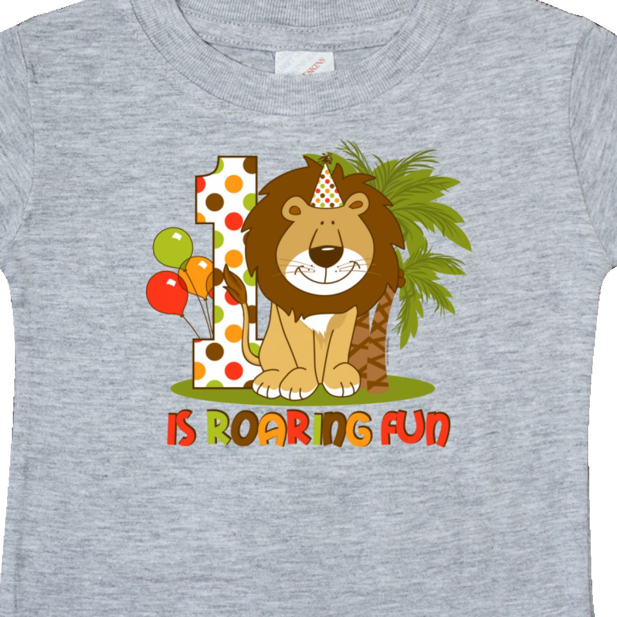 Inktastic-Cute-Lion-1st-Birthday-Baby-T-Shirt-Roaring-Fun-Pinkinkartkids-First thumbnail 6