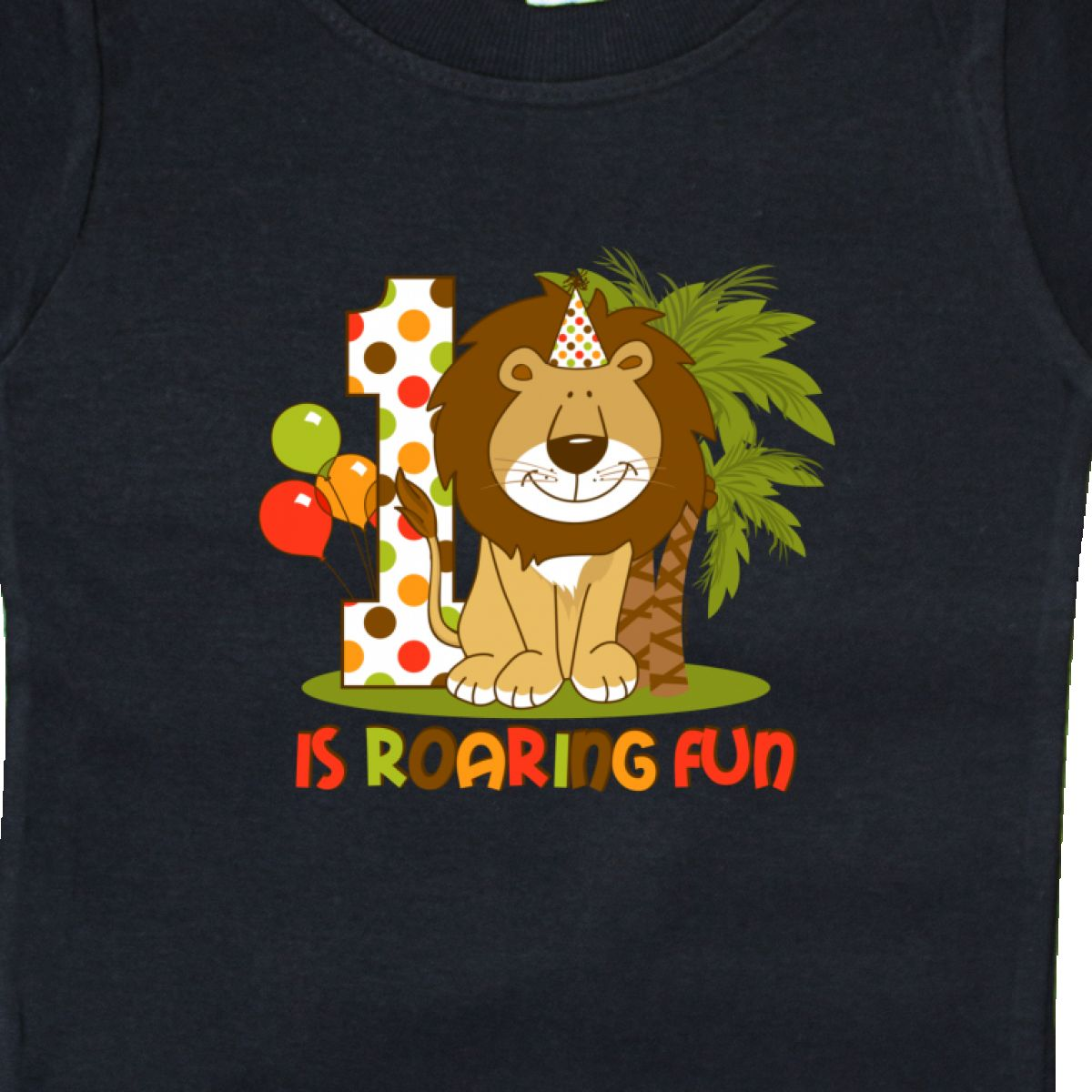 Inktastic-Cute-Lion-1st-Birthday-Baby-T-Shirt-Roaring-Fun-Pinkinkartkids-First thumbnail 4