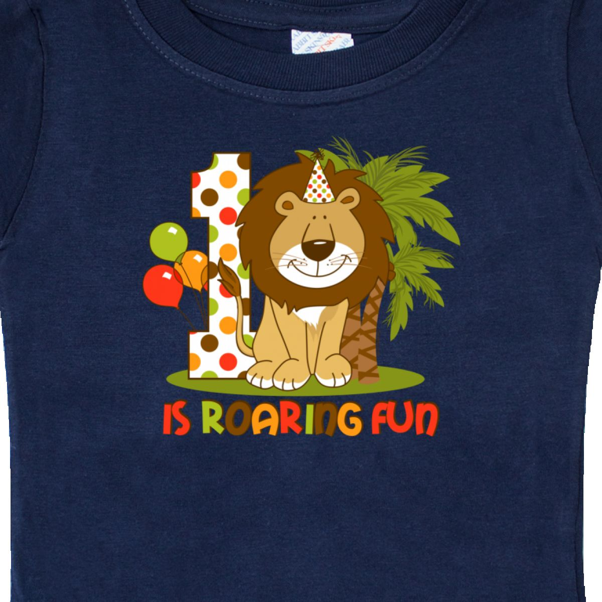 Inktastic-Cute-Lion-1st-Birthday-Baby-T-Shirt-Roaring-Fun-Pinkinkartkids-First thumbnail 14