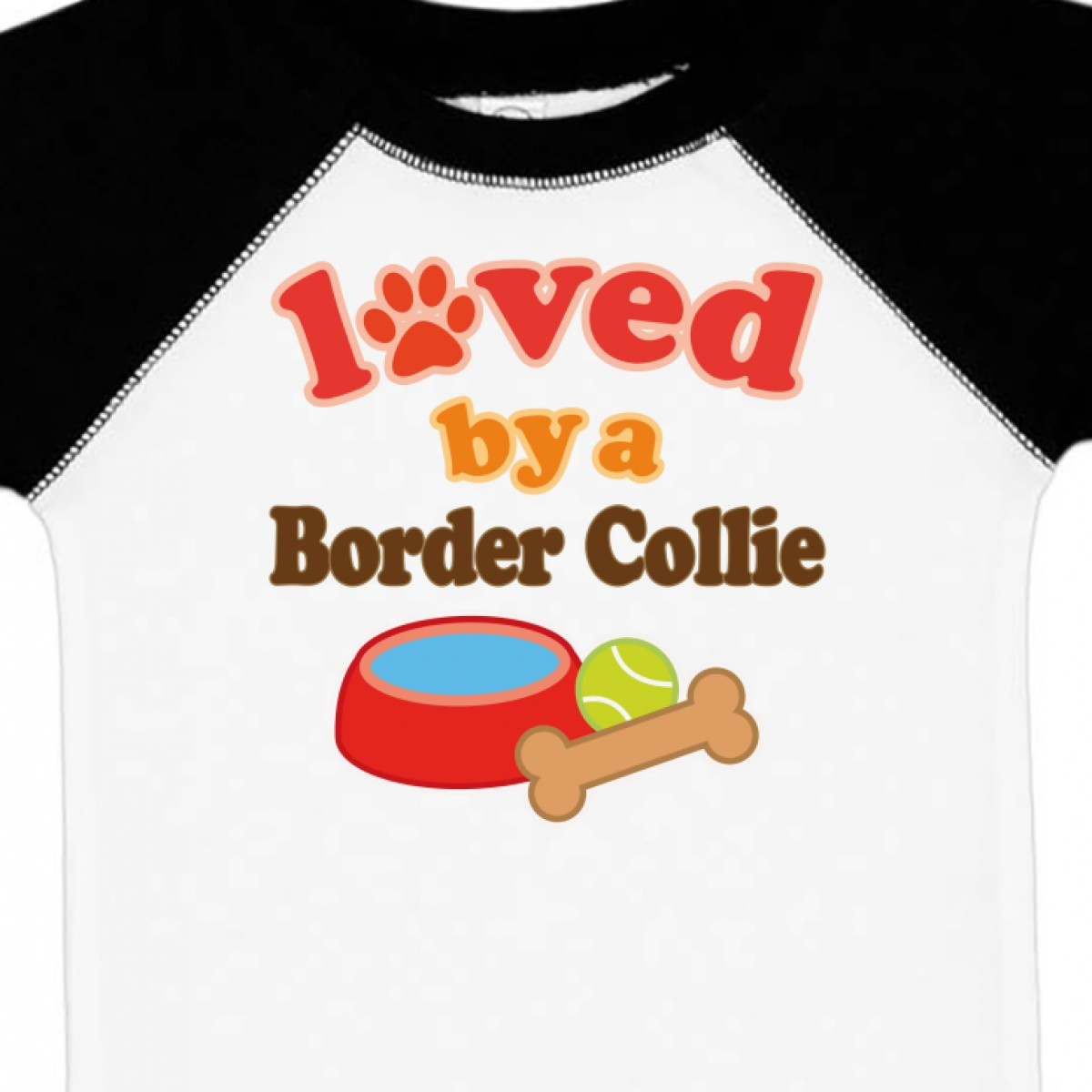 Inktastic Border Collie Dog Lover Infant Creeper Loved By Dogs Pets Cute Hws