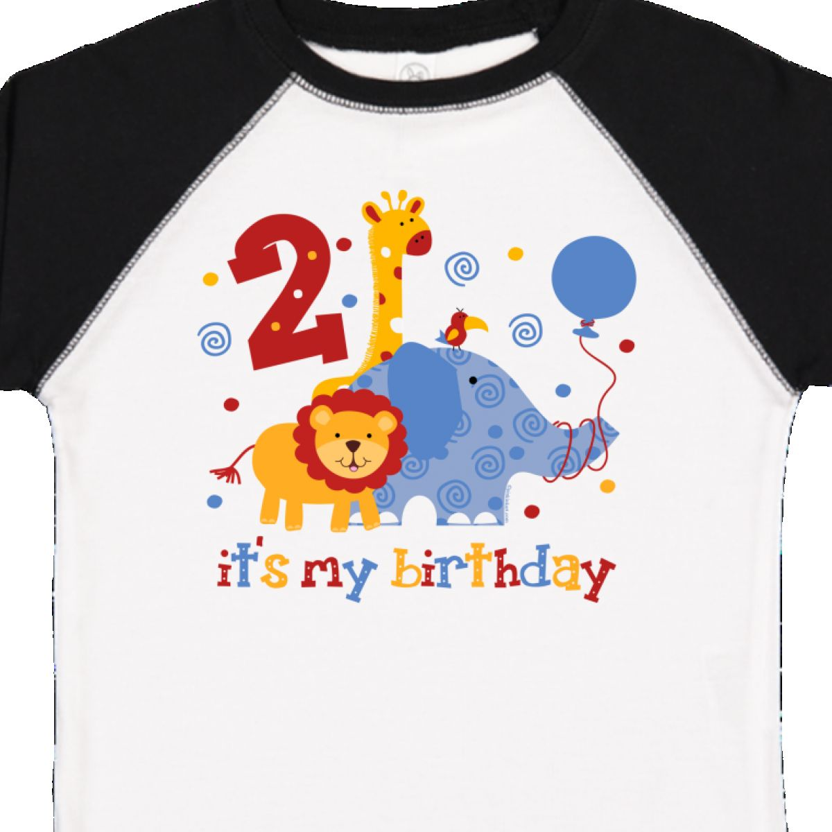 Inktastic Safari 2nd Birthday Toddler T Shirt Jungle