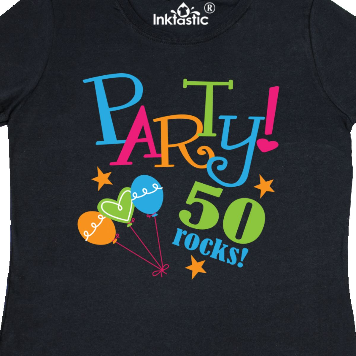Inktastic 50th Birthday Party Gift Women 039 S T